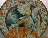 Oleg Cassini Marie Antoinette plate with original box