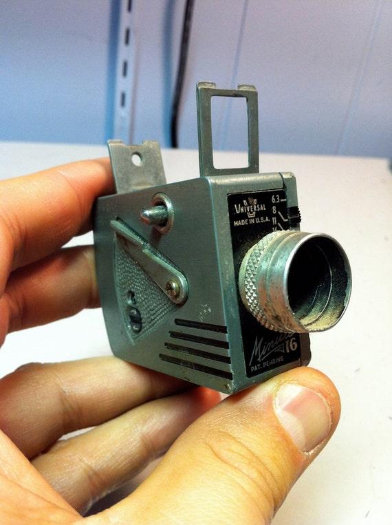 Universal minute 16 spy camera from the 1950s for Camera camera camera