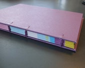 Purple Journal with Funky Pages
