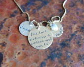 The Love Between a Mother and Child is Forever Necklace