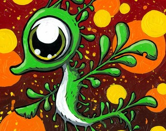 Leafy Sea Sprout 5 x 7 print