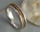 haystack ... 14k gold and silver ring