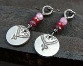 ruby Marrakesh earrings
