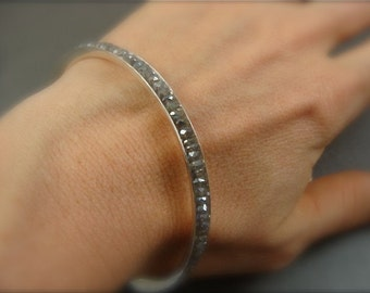 one skinny labradorite bangle ...