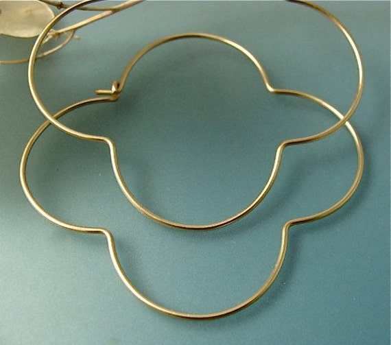 large gothic hoops