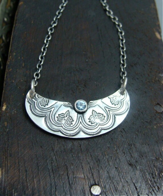 kismet ... aquamarine pendant