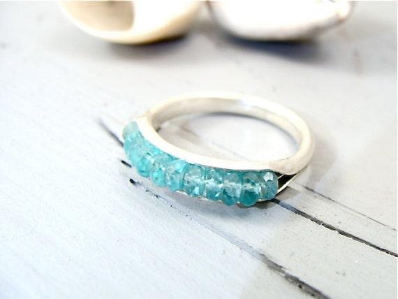 skinny apatite stack ring