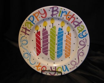 Happy Birthday plate!