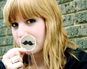 Mustachio Necklace