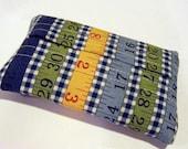 Tissue Holder in Measuring Tape Fabric