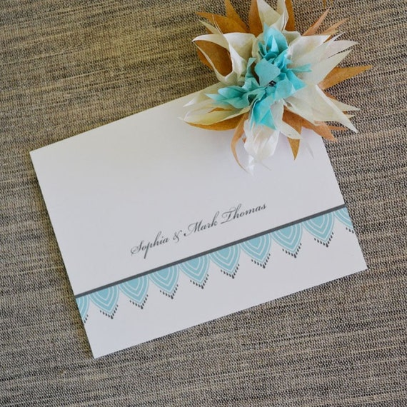 Lace Thank You Notes: On Sale