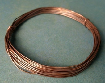 24 gauge Antiqued Copper Wire - 10 feet