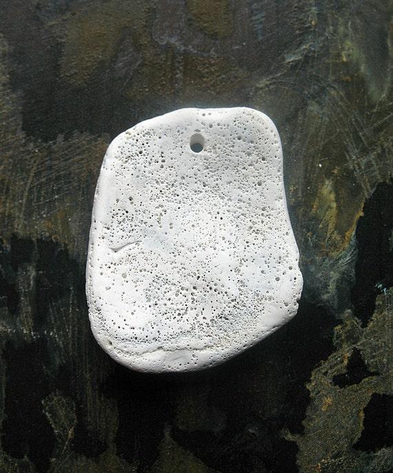 Shell Fragment Pendant - K