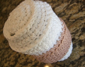 PDF CROCHET Pattern to make  For Your Little Barista a Cotton Coffee to Go
