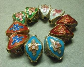 Cloisonne Lantern Beads