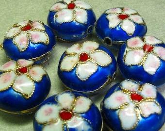Cloisonne beads 10P