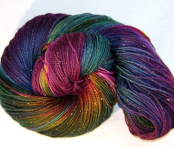 BELEDI - fairy dust sock yarn