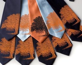 10 Custom Wedding neckties, groomsmen vegan-safe ties, 30% group discount, matching ties, same design.