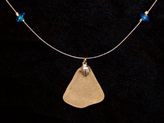 Sea Glass Pendant Necklace