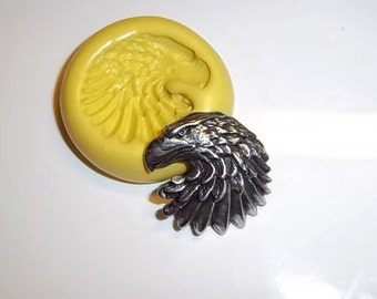EAGLE Flexible Push Mold Mould For Resin Paper Clay Sculpey Fimo Polymer Premo Wax Chocolate (A147)