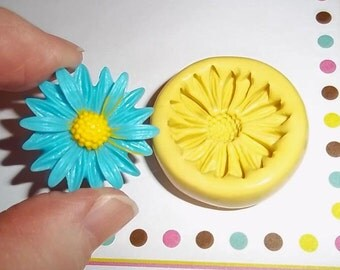 Flower Flexible Mold Mould For Resin Paper Clay Sculpey Fimo Polymer Premo Wax Chocolate  F204