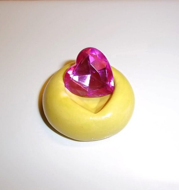 Heart Diamond Flexible Mold Mould Use Resin Sculpey Fimo Polymer  (M221)