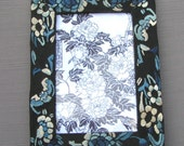 Vintage Chinese Qing Silk Embroidery Picture Frame, one of a kind