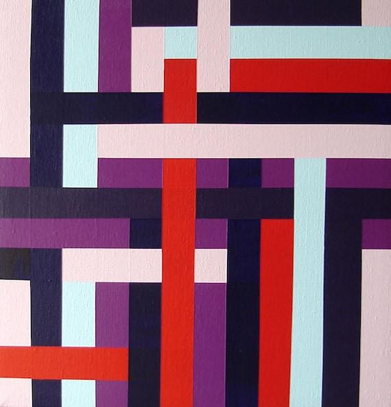Modern Art ORIGINAL Painting Contemporary Modern Wall Decor