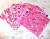 Valentine Paper  24 Sheets  6 x 6