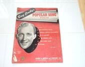 Sheet Music - Bing Crosby's Popular Song Folio