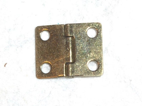 Miniature Brass Hinges - Set 6