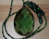 Green Fairytale Princess Necklace