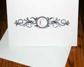 Ornate Initial- personal stationery