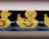 Rubber Ducky bracelet pattern