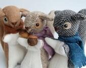 Squirrel Honey light brown tweed wool