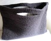 Dark Gray Clutch Purse