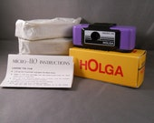 110 Holga with FOUR rolls of film