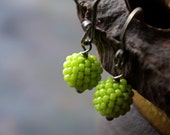 Droplet Earring - chartreuse