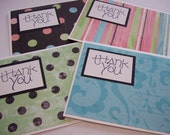 4 Pack of Thank You Cards