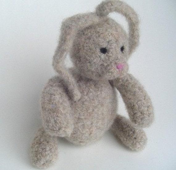 Plain Sue Felted Bunny