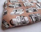 camera coin purse with zipper
