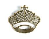 1 Filigree Crown Stamping