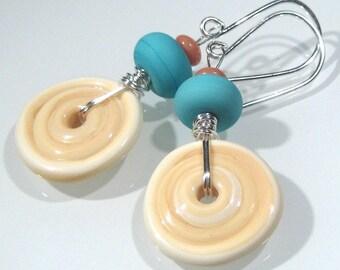 Tutorial - Disc Dangle Earrings