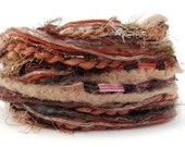 Creative Yarn Variety Pack, Woody Browns, 30 metres assortment cut lengths, chestnut coffee camel sand tawny inspiration