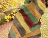 Nuno Felted Scarf in Warm Tones -  SALE ITEM