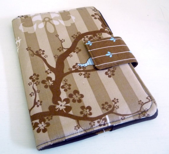 Kindle Touch Cover, Kobo Case - Nesting Birds in Tree