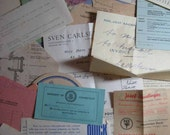 Travel Ephemera Lot