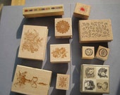 Destash Rubber Stamp Lot