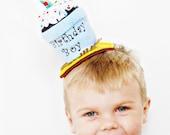 Birthday Boy Cupake Hat TM by Sew Cute Sweets
