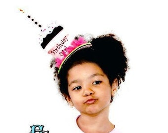 Birthday Girl Cupcake Hat by Sew Cute Sweets